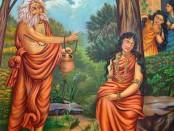 Durvasa_Shakuntala