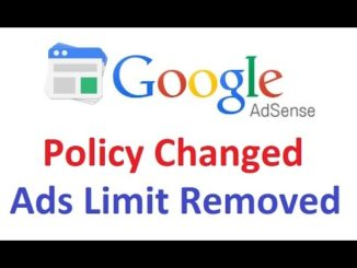 adsense-ad-policy-changed