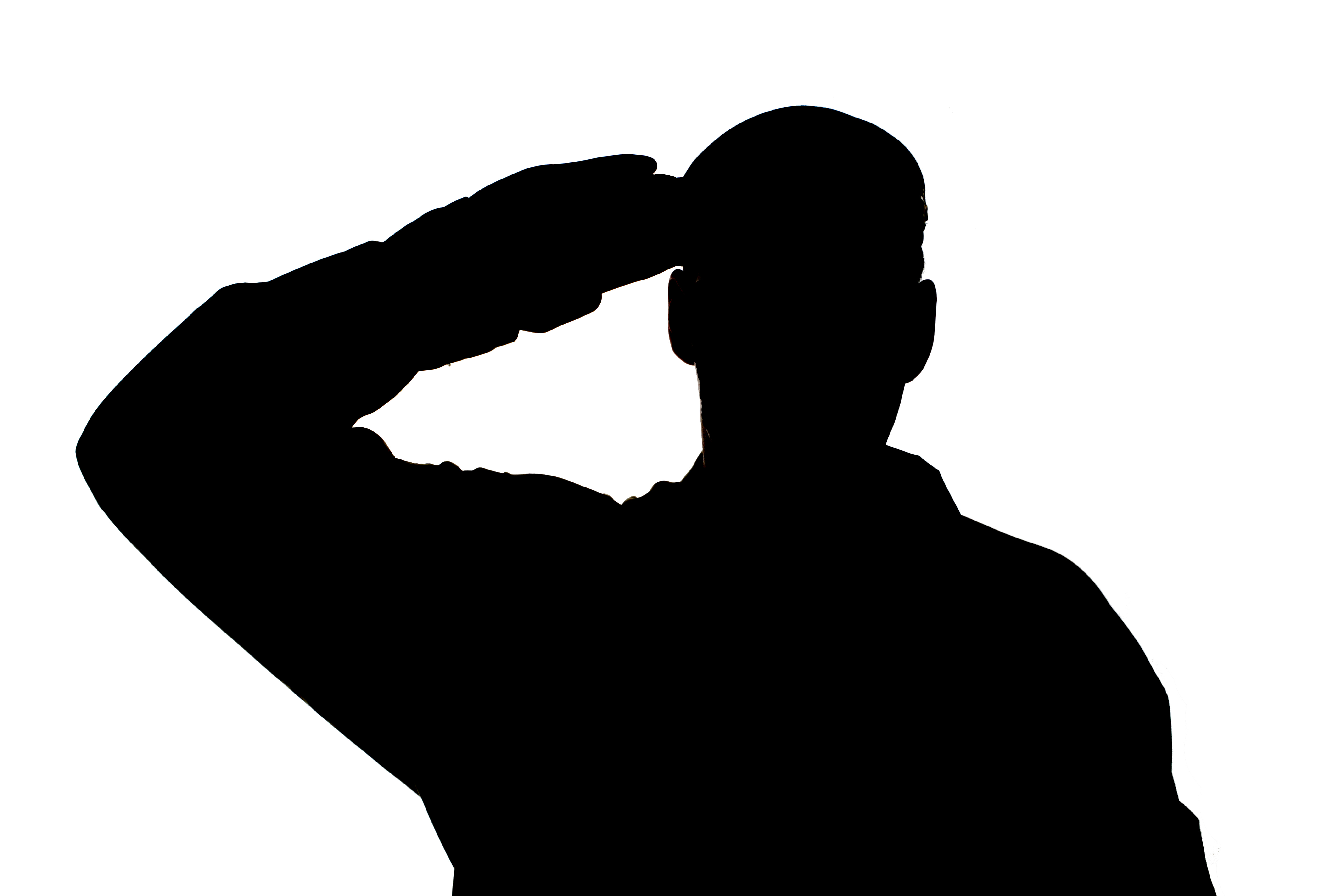 salute from heart